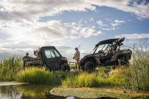 2016 Can-Am Defender XT CAB - Commander Mossy Oak - Duck hunt-min