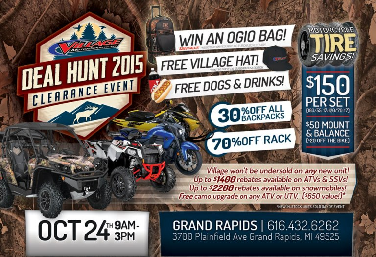 deal-hunt-clearance-event-village-motorsports-grand-rapids-michigan